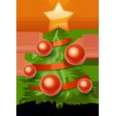 Auguri icona albero di Natale 2016