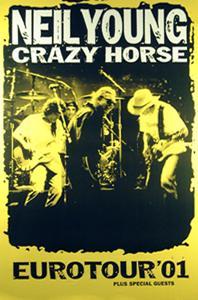 Neil Young Euro Tour 2001