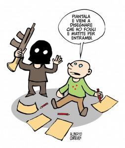 Alberto Corradi per Charlie Hebdo
