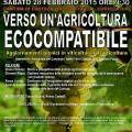 Pesticidi Agricoltura Ecocompatibile SommaGas Convegno 28 02 2015 locandina