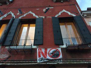 Venezia No grandi navi finestra