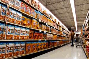 supermercato scaffali dal film The Hurt Locker di Kathryn Bigelow